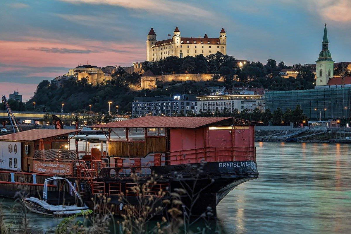 Imagen de las vistas de Bratislava