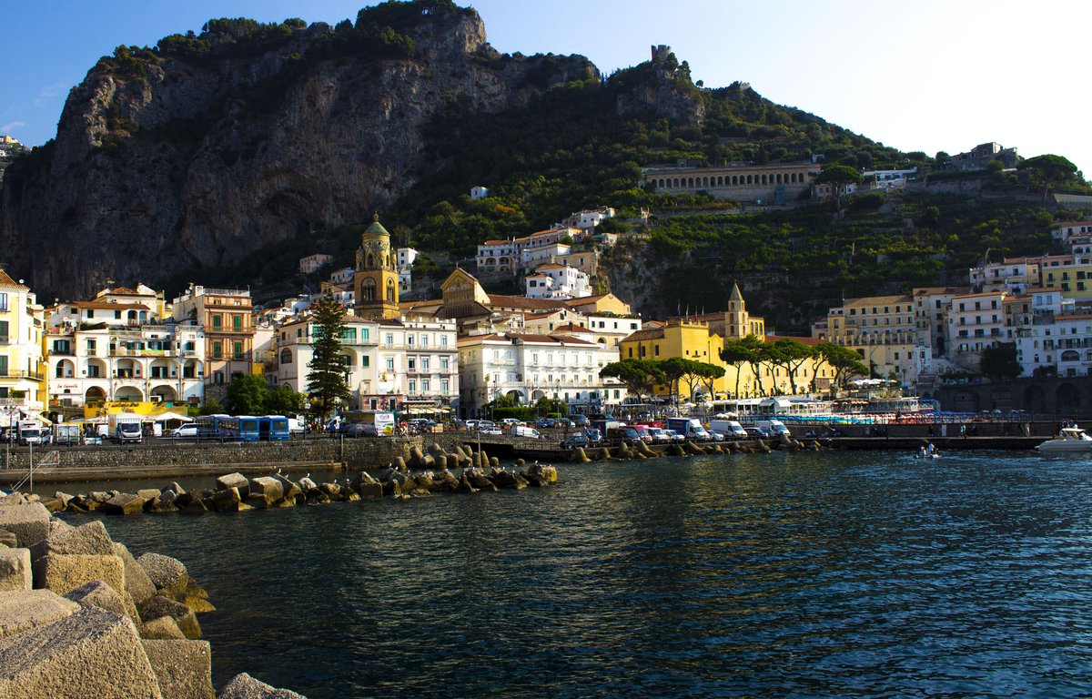 Amalfi en costa Amalfitana