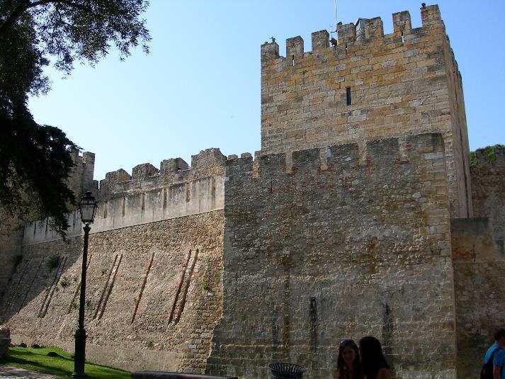 Castillo de San Jorge de Lisboa.