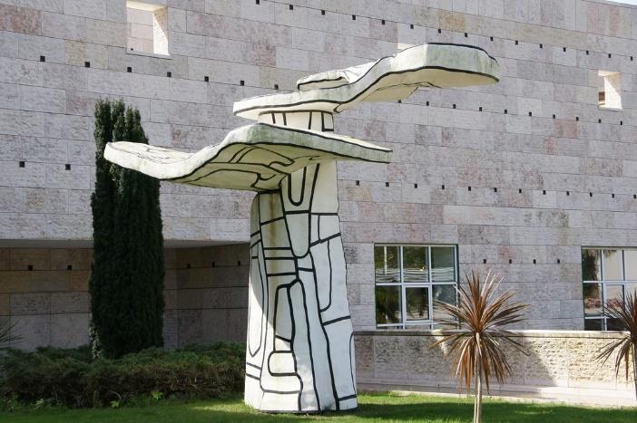 Escultura del Centro Cultural de Belém.
