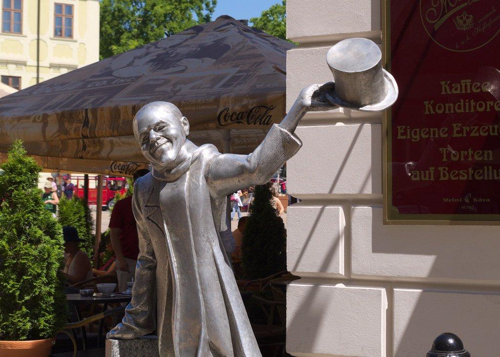 Imagen de Ignaz Lamar, el caballero de Bratislava