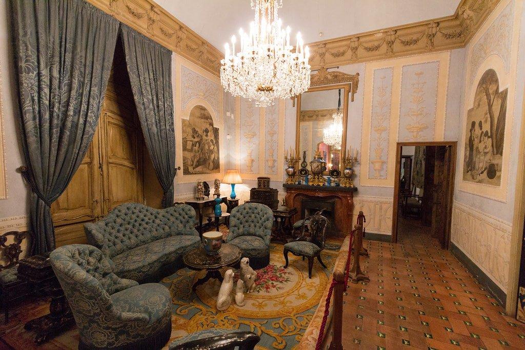 Salón del Palacio de Viana.