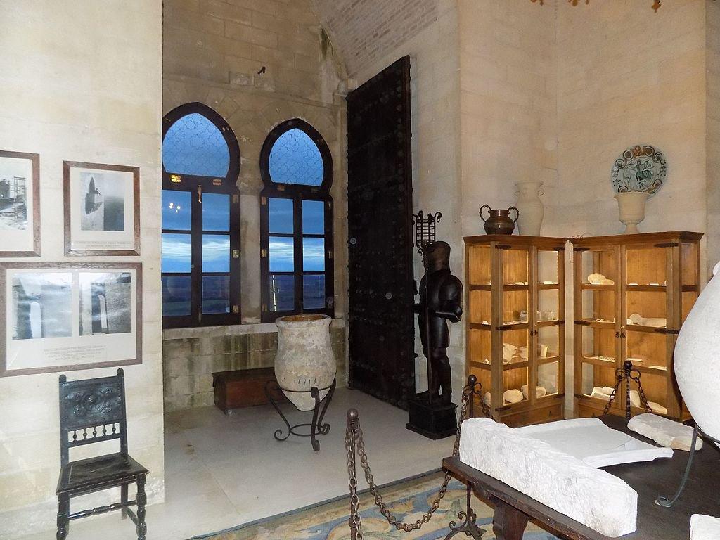 Una habitación del Castillo de Almodóvar.