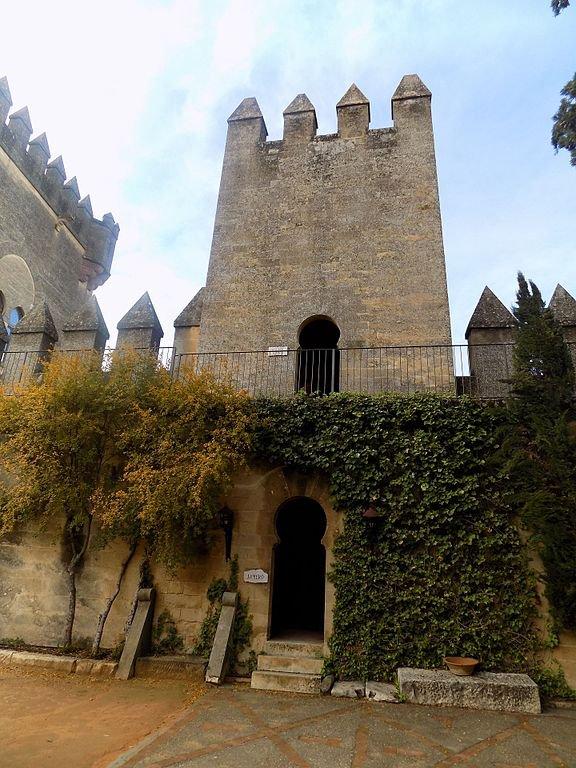 Patio del Castillo de Almodóvar