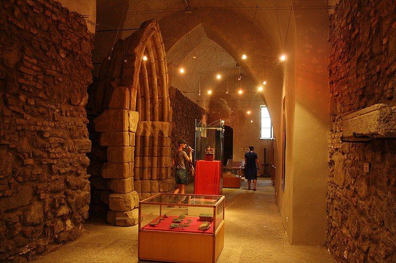 Interior del Museo Nacional del Castillo