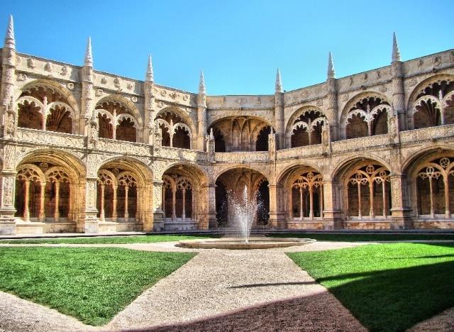 Patio del Monasterio de los Jerónimos.