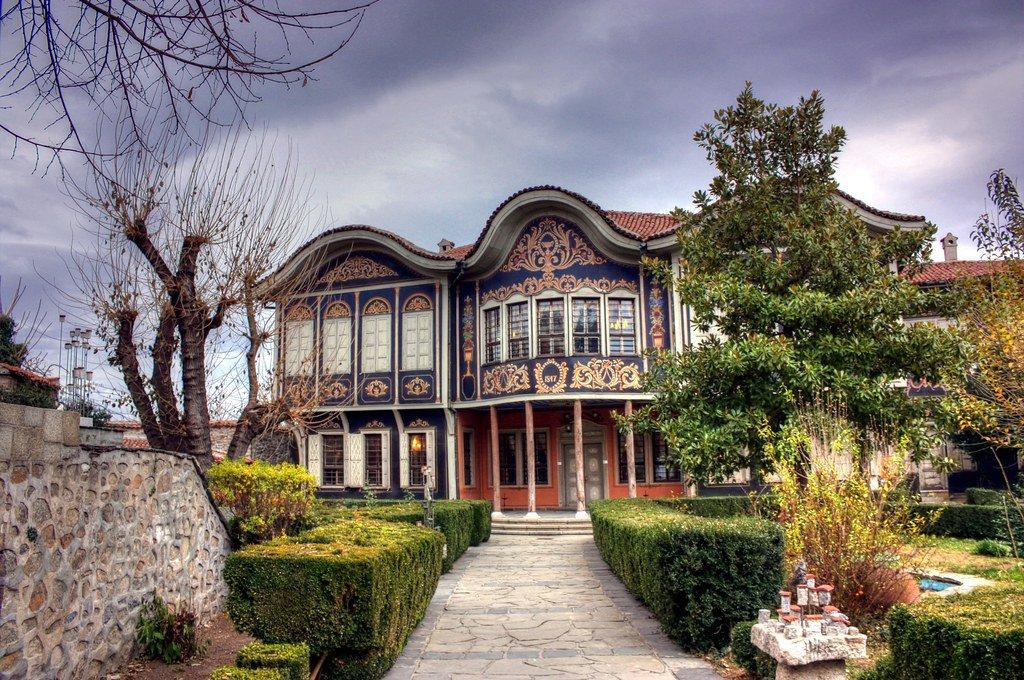 Fachada de la antigua casa renacentista reconvertida en el Museo Etnográfico de la ciudad