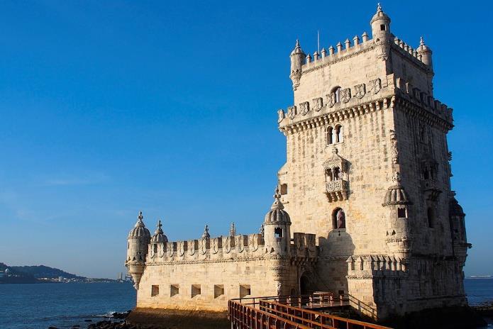 La Torre de Belém de Lisboa.
