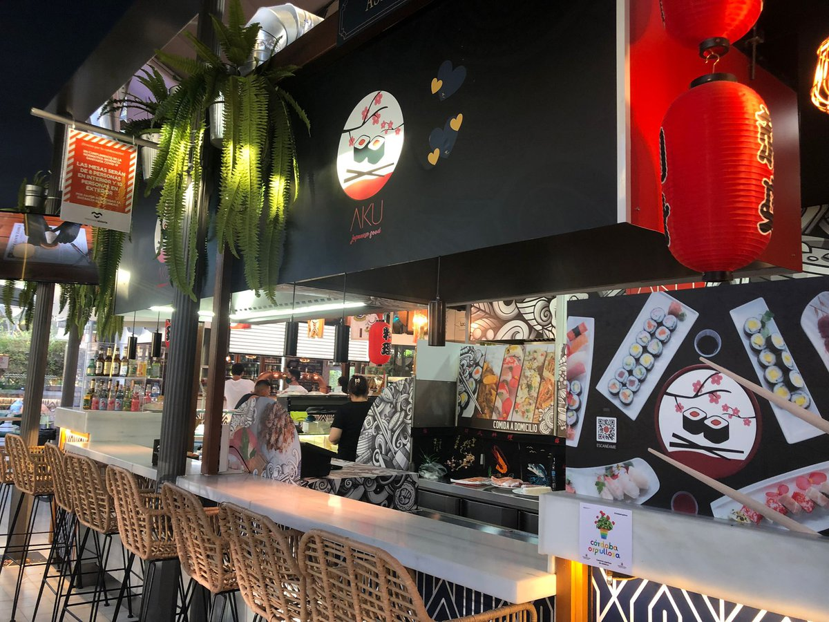 Restaurante Japonés en el Mercado de la Victoria.