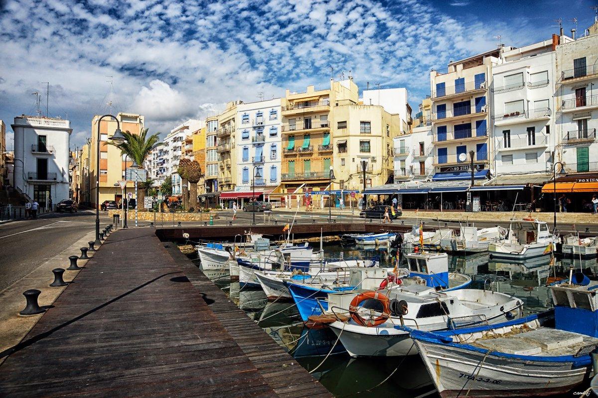 El puerto de L'Ametlla de Mar