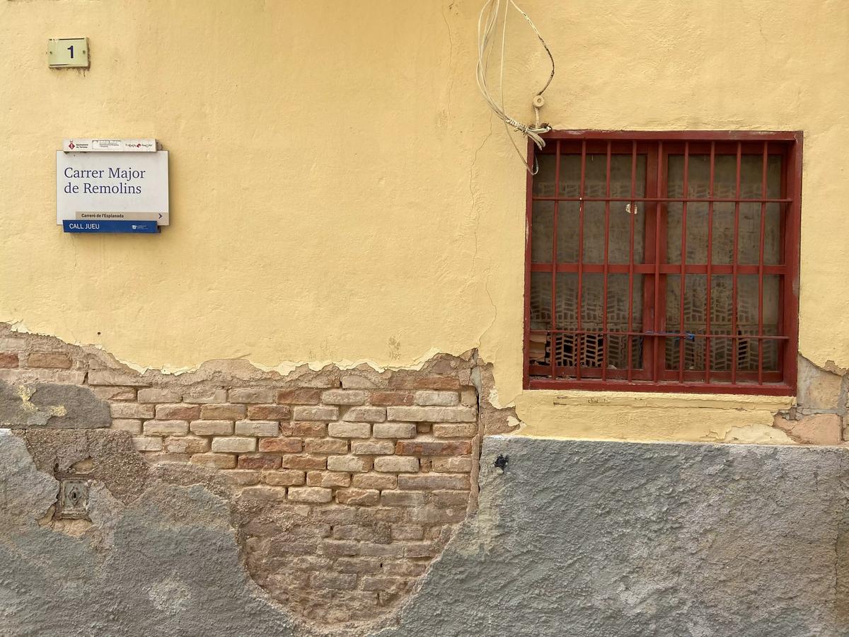La Calle Mayor de Remolins, la calle principal del barrio judío de Tortosa.