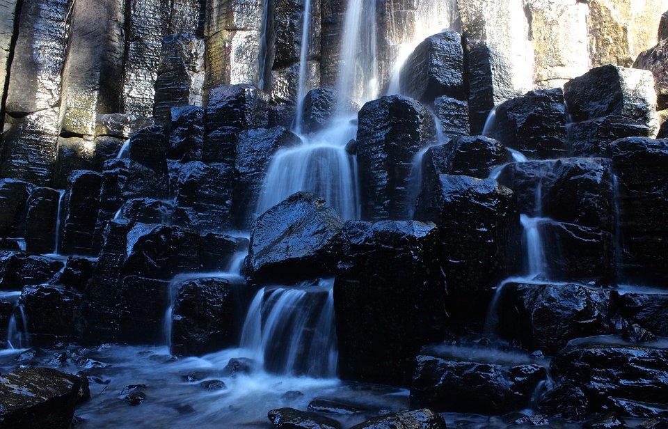Cascada Prismas Huasca