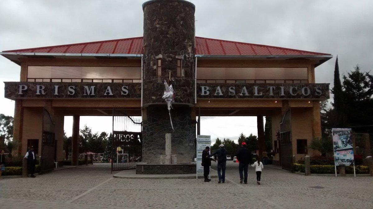 Entrada al centro turístico Prismas Basálticos.