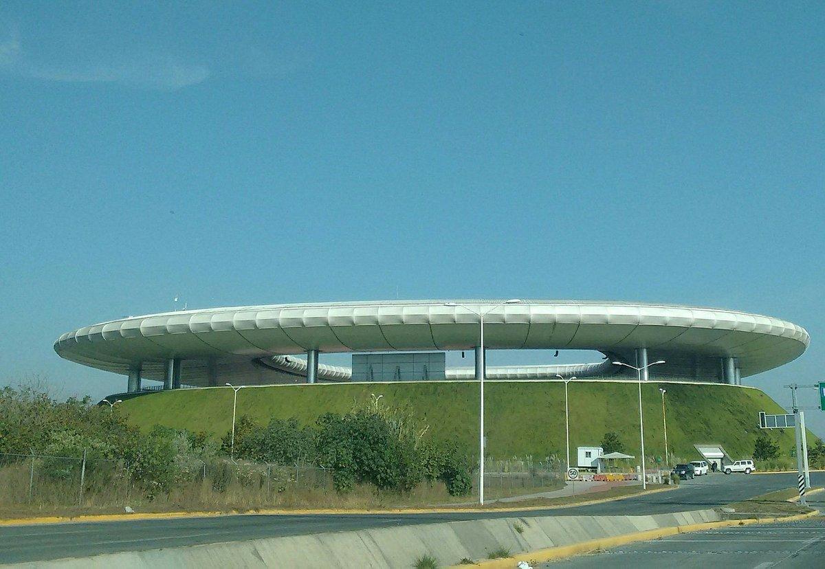 Vista aérea del estadio de los Chivas en Zapopan.