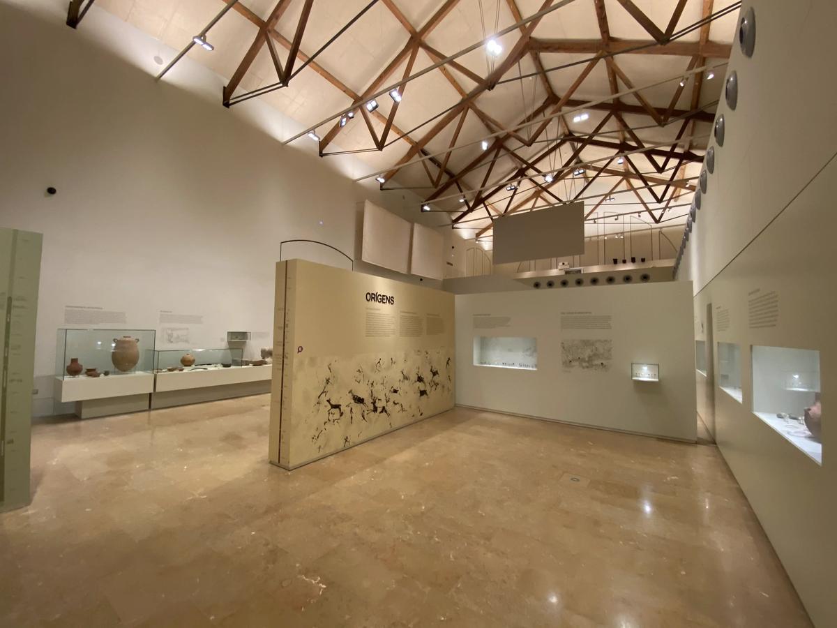 Entrada a la exposición del museo de Tortosa.