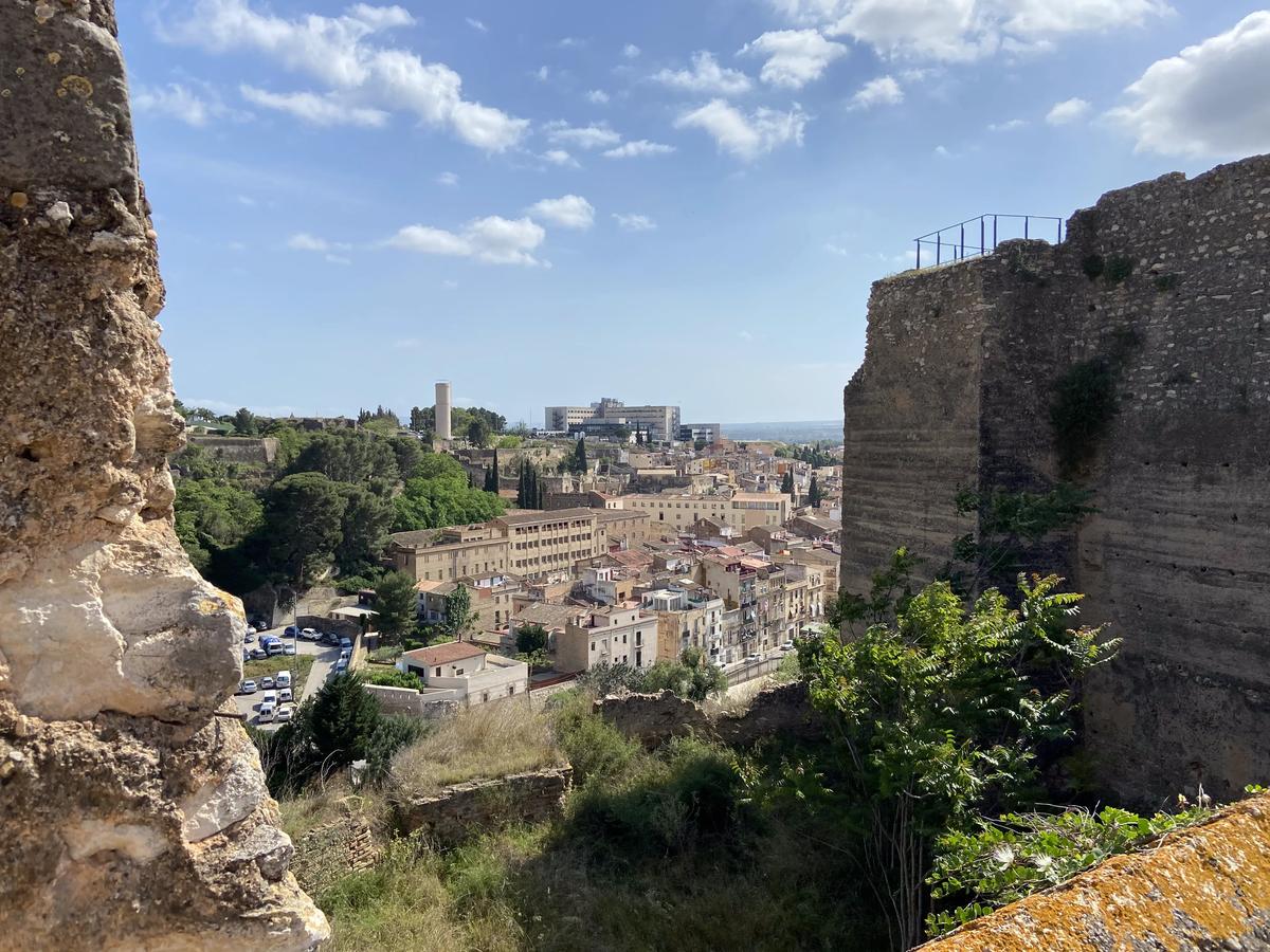 Una de las fortalezas de Tortosa.
