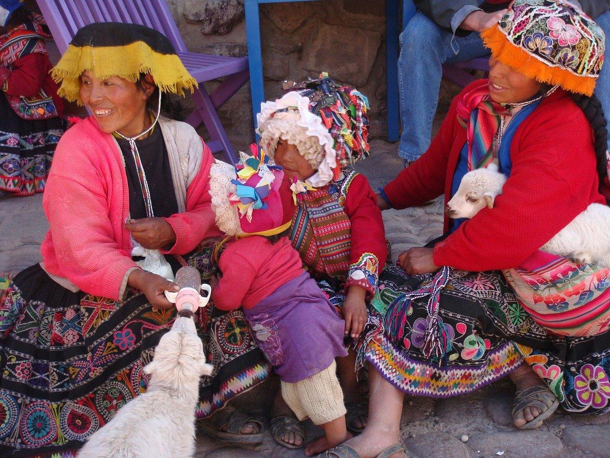 Gente de Ollantaytambo