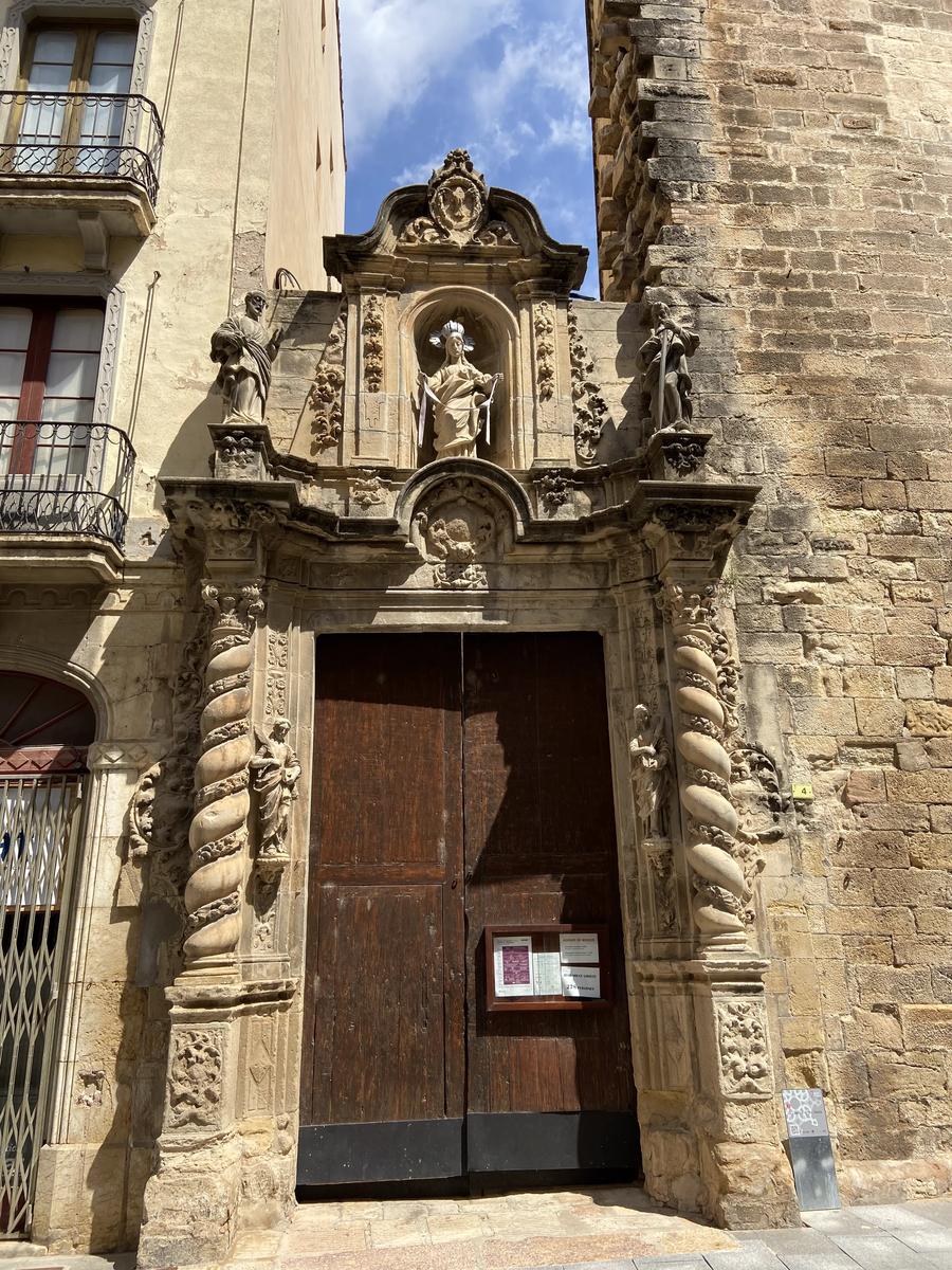 Iglésia de la Cinta, iglésia anexa a la Catedral de Tortosa.
