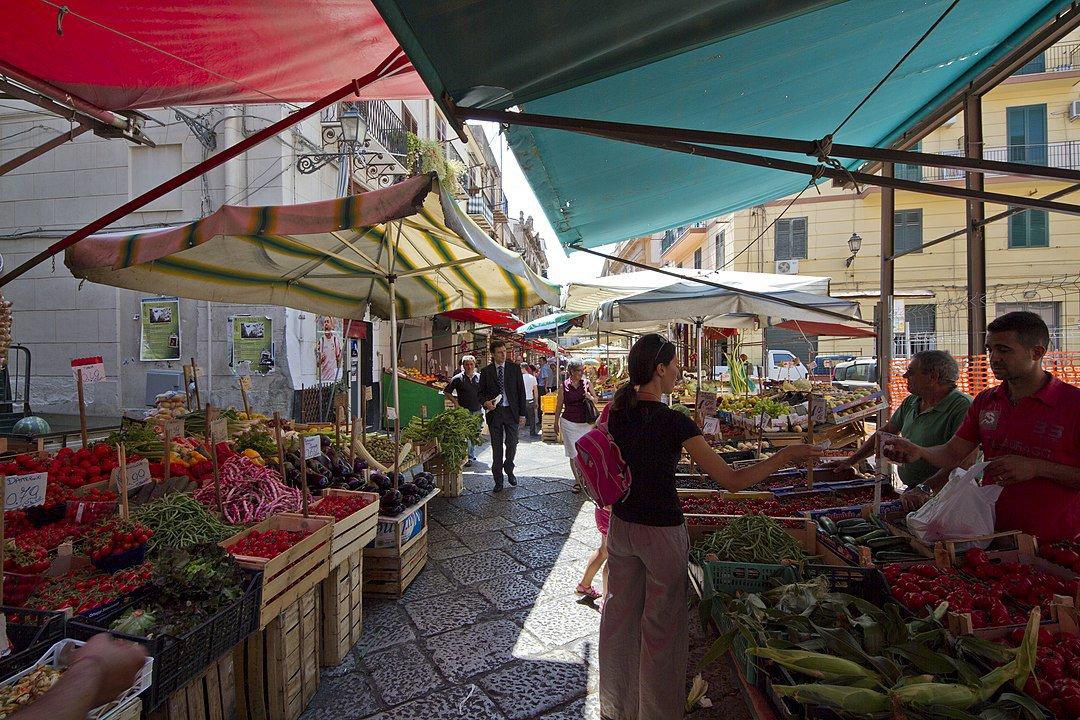Mercado de la Vuccira