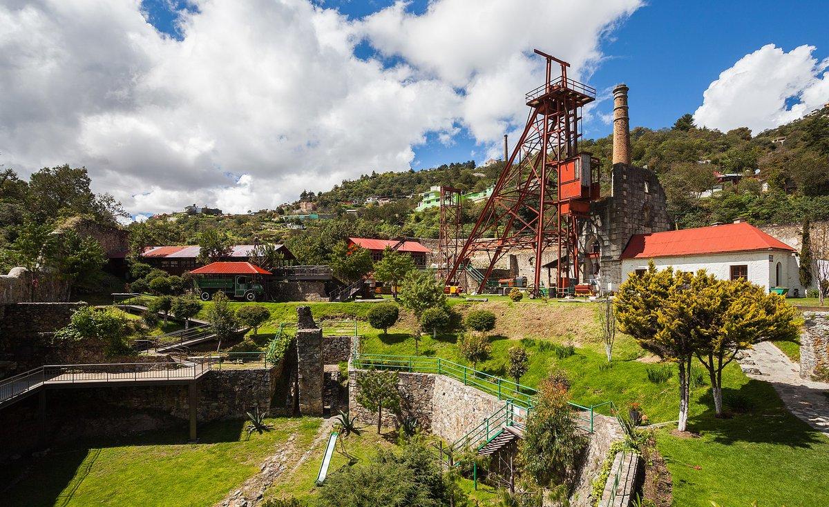 Vistas de la Mina de Acosta en Real del Monte.