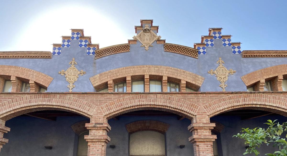 Edificio del museo de Tortosa, antiguo matadero.