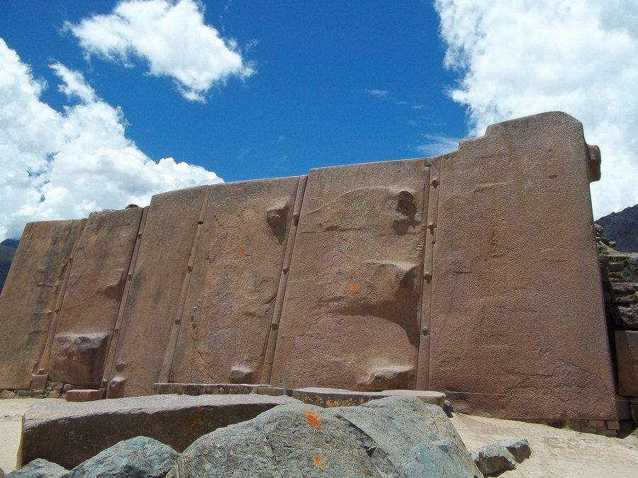 Templo del sol de Ollantaytambo