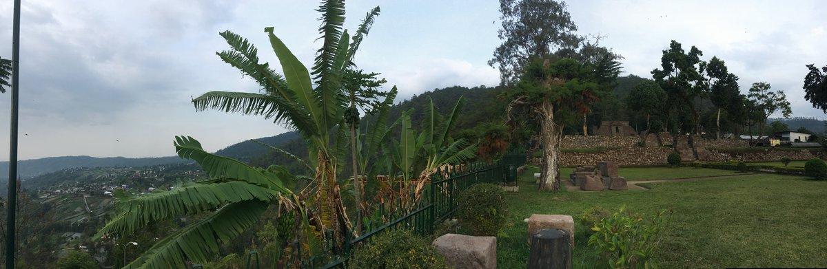 Foto panoramica de Candi Sukuh