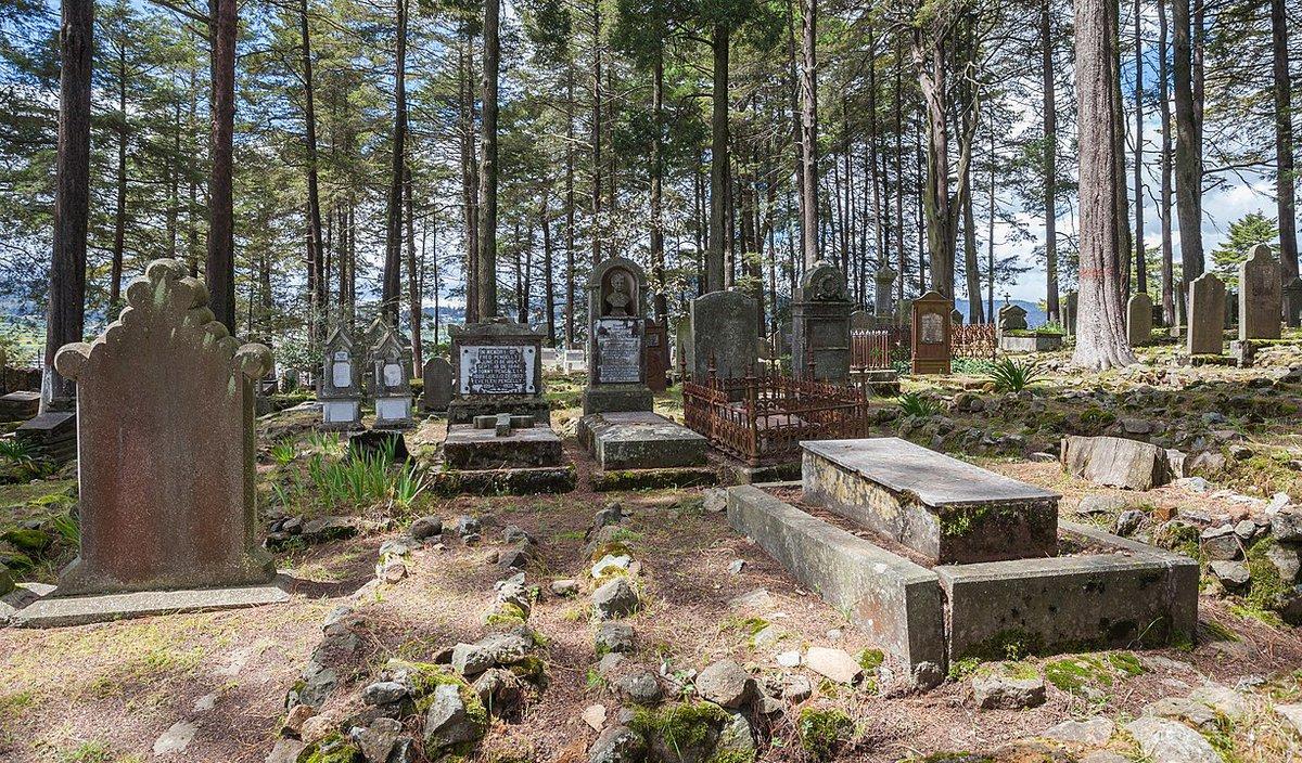 Cementerio de mineros británicos.