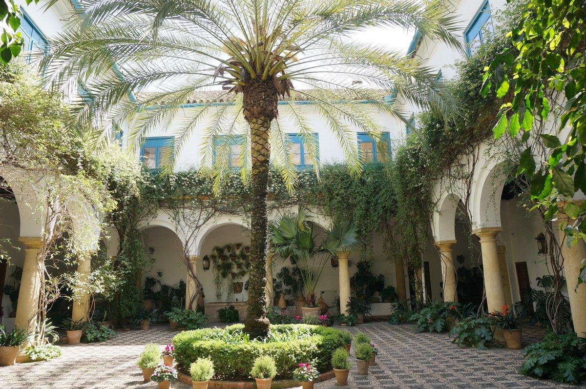 Patio interior del Palacio de Viana.