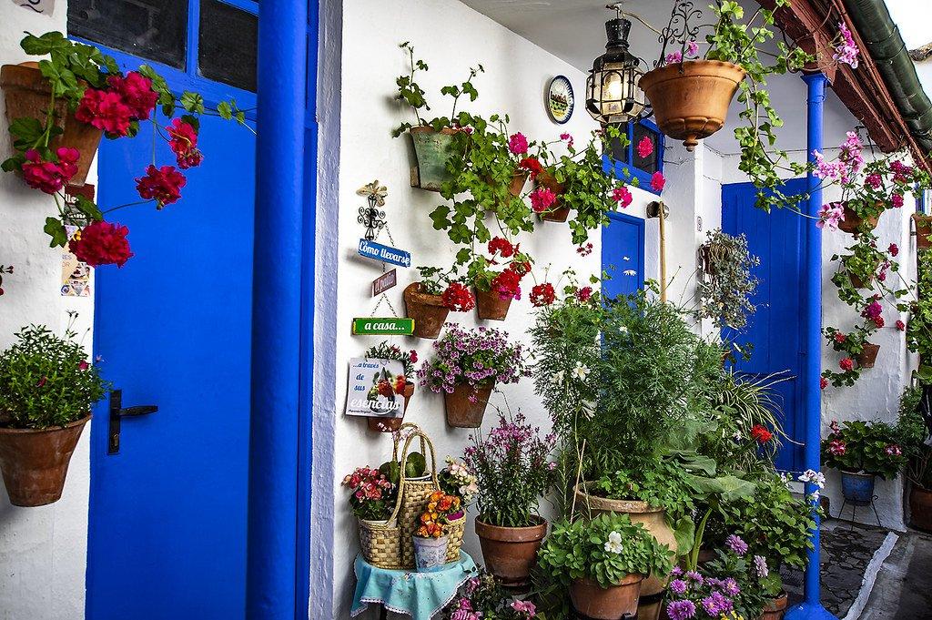 Puerta del patio de calle Marroquíes