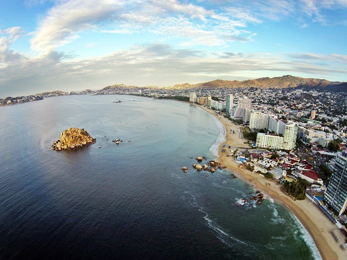 Playa Condesa en Acapulco