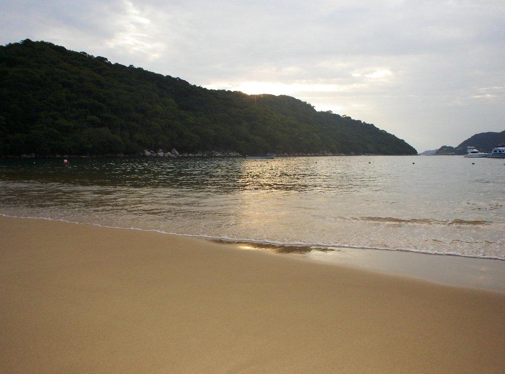 Playa Majahua en Acapulco