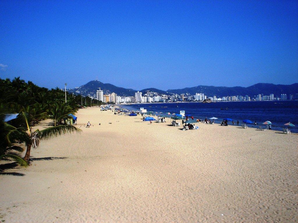Playa Tamarindos en Acapulco