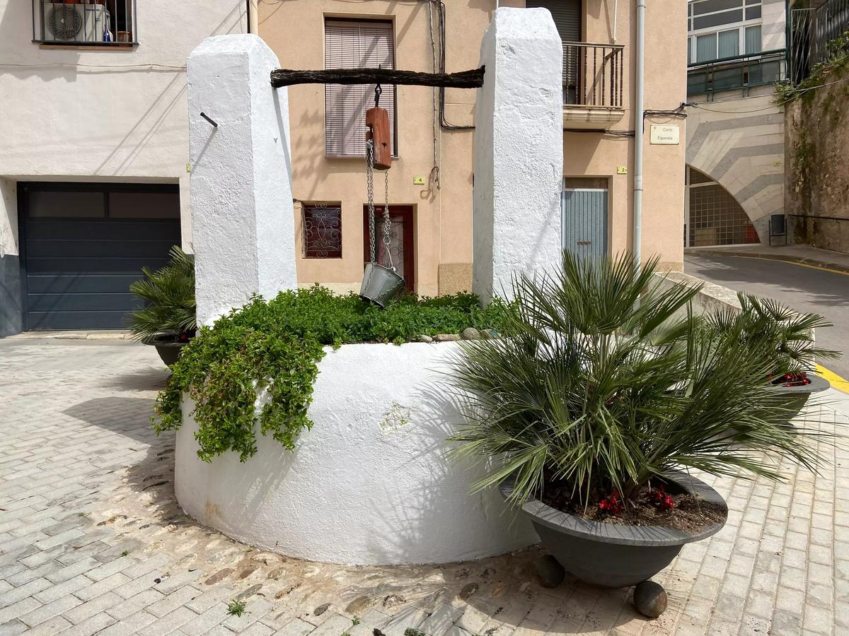 Viejo pozo en la judería de Tortosa.