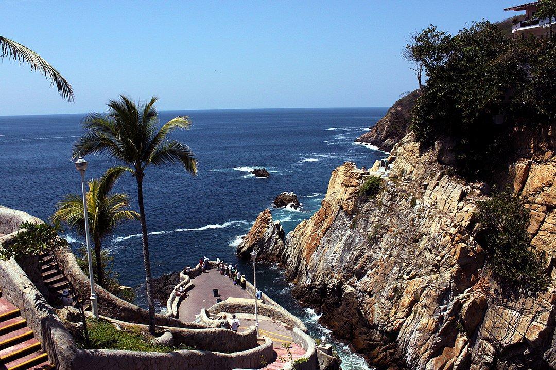 La quebrada en Acapulco