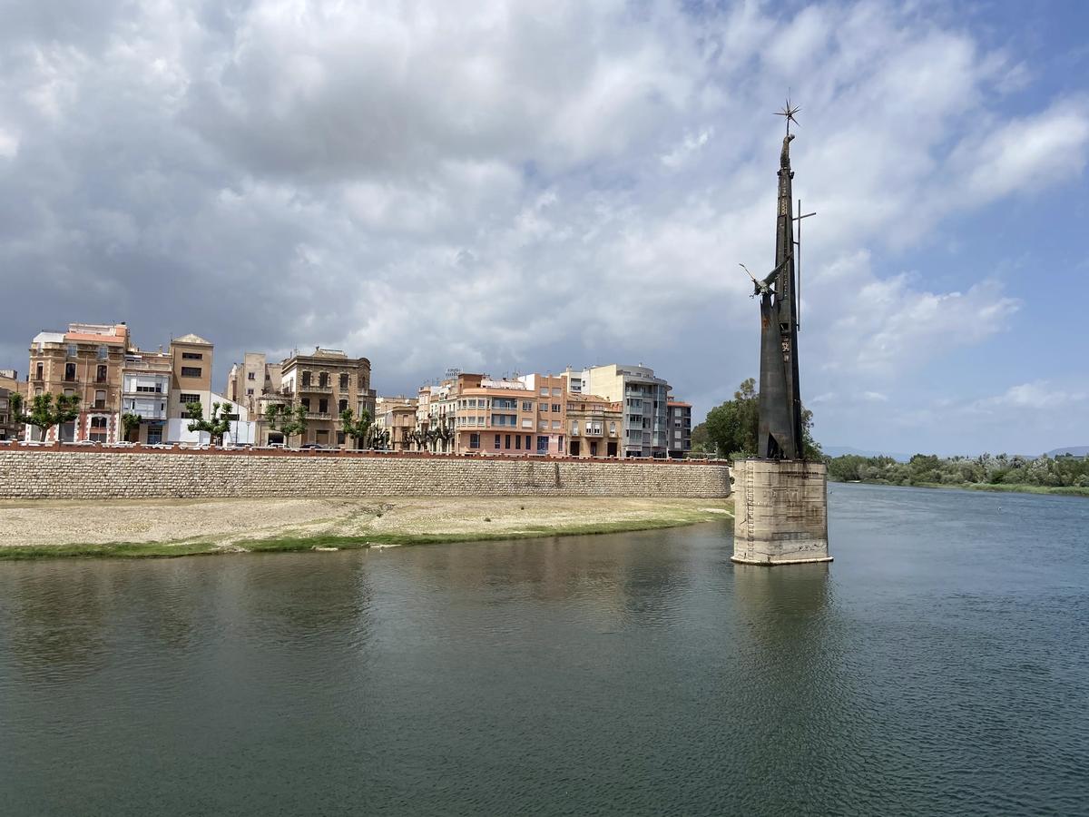 El Ebro en Tortosa.