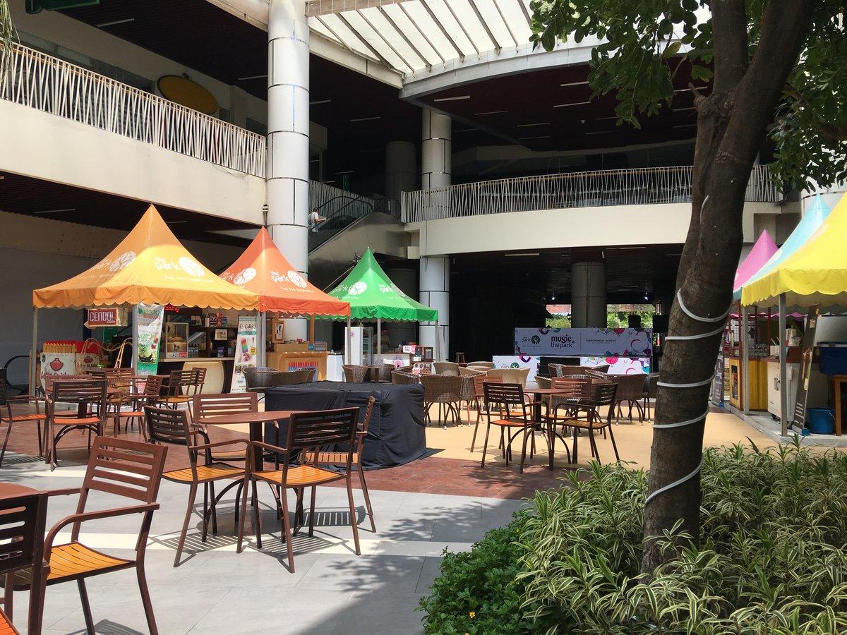 Terraza en The Park mall