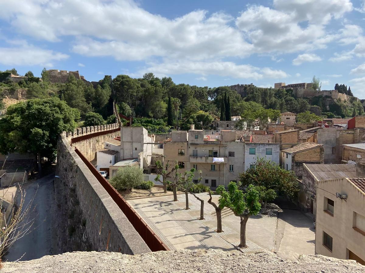 Vistas desde la torre de la Muralla Remolins, Tortosa.