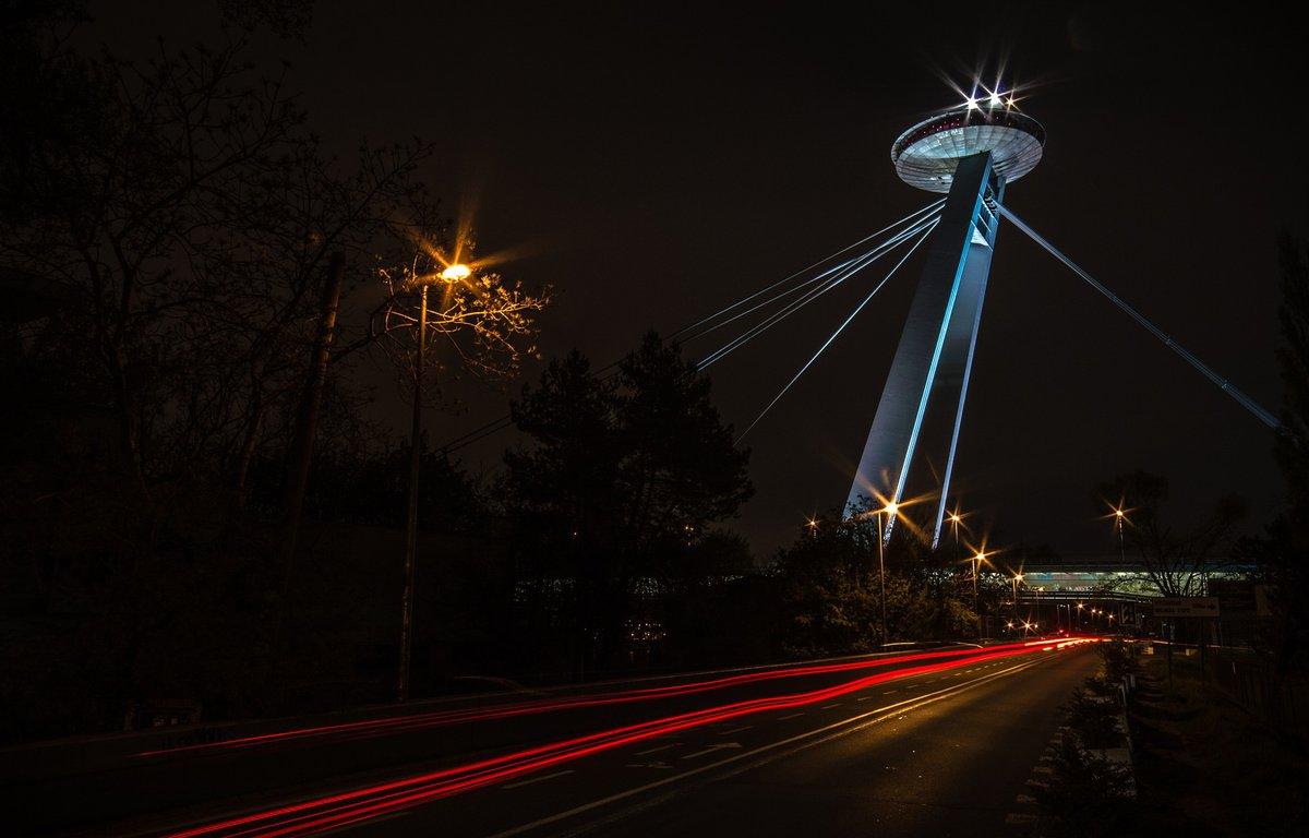 Torre UFO en Bratislava.