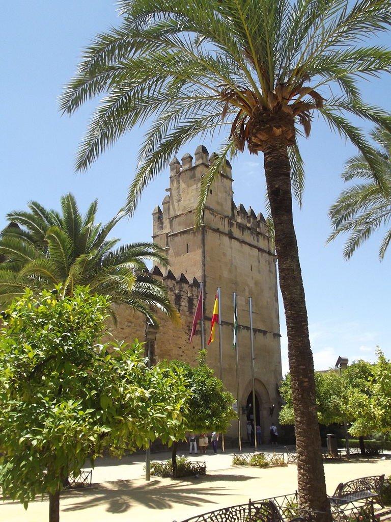Torre de los Leones desde la entrada.